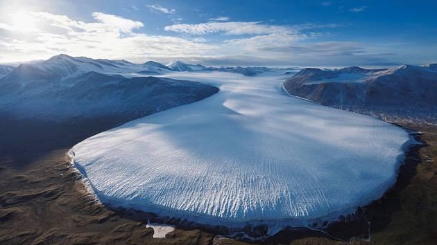Z Viktoriiny země v Antarktidě.