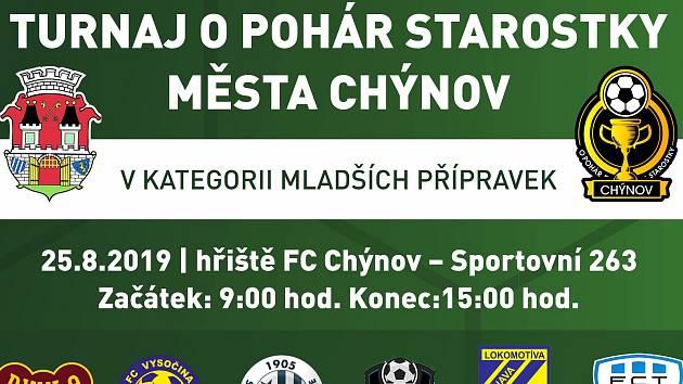 Chýnov se chystá na turnaj O pohár starostky.