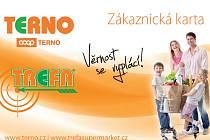 Zákaznická karta Terno - Trefa.