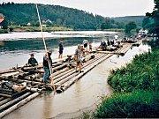 Vor pod Hlubokou, příležitostná plavba v roce 2002.