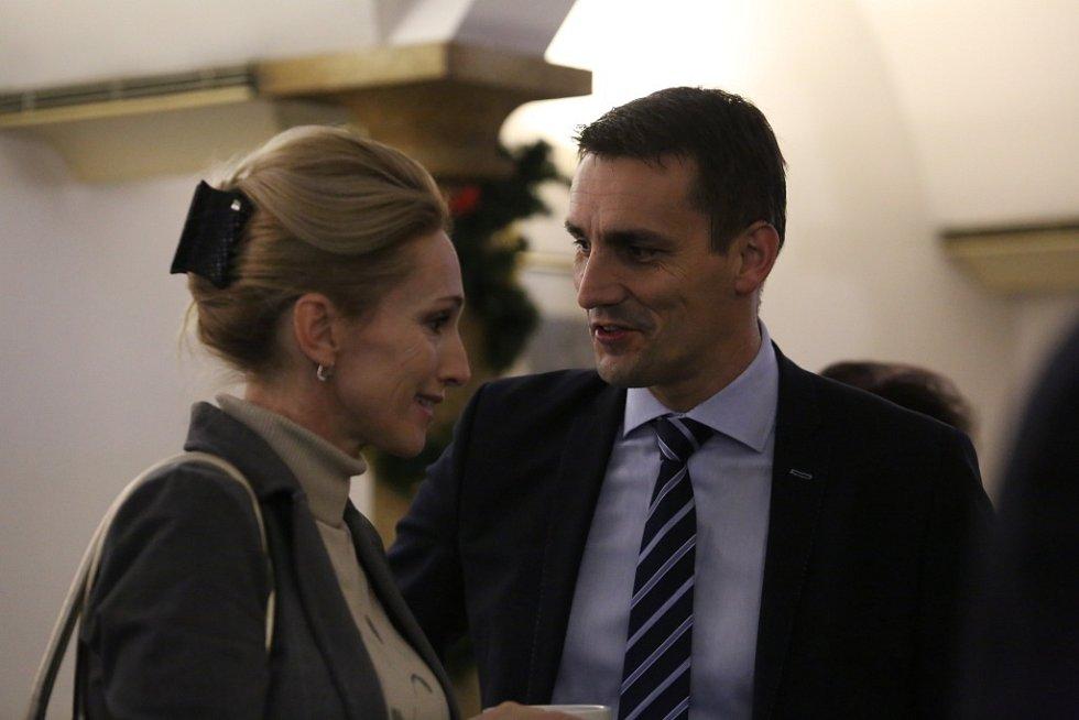 Úterní debaty se zúčastnili i Hana Štastná, ředitelka Regionální agrární komory Jihočeského kraje a Bohdan Zronek, ředitel Jaderné elektrárny Temelín