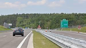 Otevření dalšího úseku dálnice D3