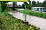 Déšť opět potrápil jižní Čechy.