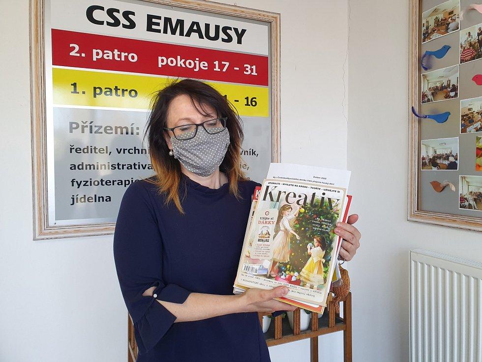 Martina Primaková  ředitelka Domova pro seniory CSS Emausy