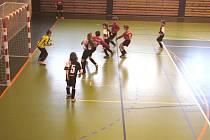 V závěrečném kole základní části turnaje v Týně vyhrálo Dynamo ČB 98 nad Soběslaví 5:0.