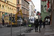 Uzavírka ulice Karla IV.