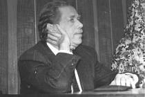Václav Havel v rozhovoru pro Jihočeskou pravdu v roce 1992.