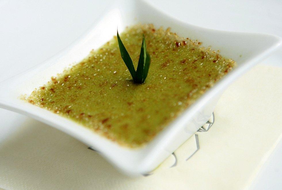 Sarikaya - kokosové creme brulee