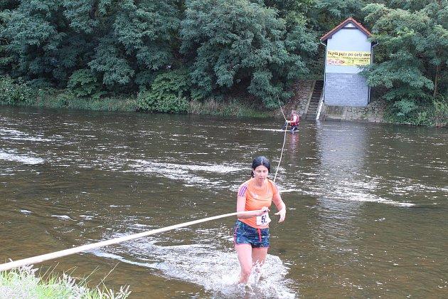 Krosový běh v Boršově nad Vltavou.