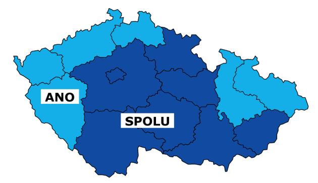 VČeské republice je sečteno přes 90procent hlasů.
