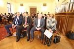 Setkání s primátorem Českých Budějovic Jiřím Svobodou.