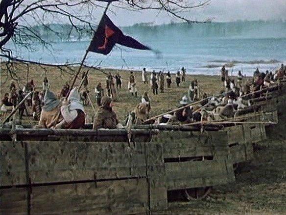 Husité uSudoměře použili vozovou hradbu.