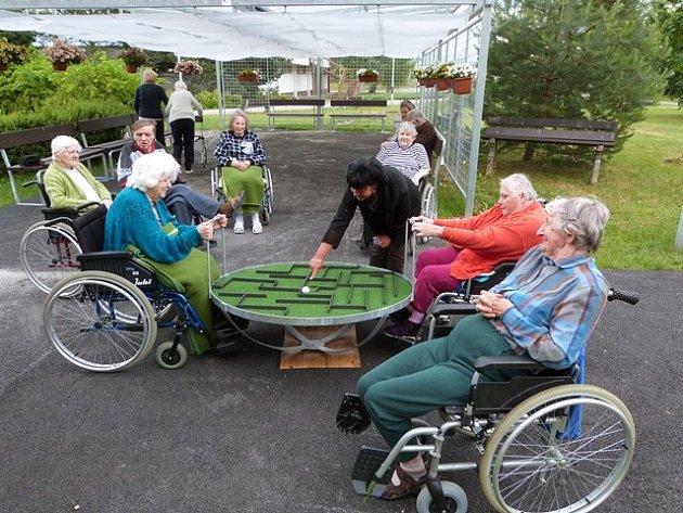 Investice do domova pro seniory.