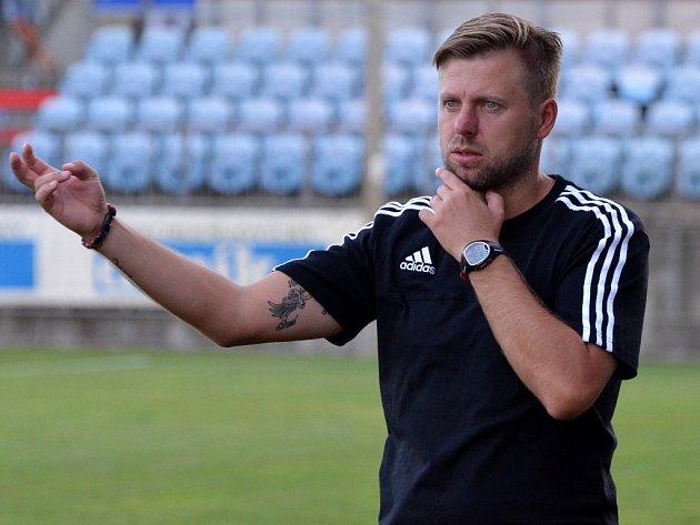 Trenér Dynama David Horejš.
