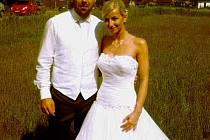 Hokejista Milan Gulaš se oženil s Veronikou Springerovou