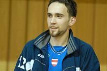 Smečař Martin Böhm.