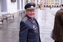 Bojovník ze západní fronty  plukovník Milan Malý.