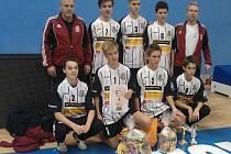 Dynamo má další trofej, žáci vyhráli Pohár Českého svazu nohejbalistů