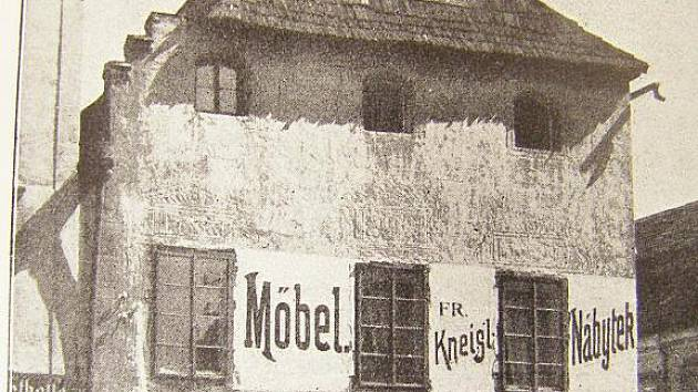 KDYSI: Takto zvěčnila podobu Kneisslova domu publikace Heimatbuch.