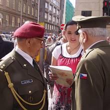 Ján Bačík při pietním setkání.