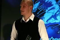Zdeněk Ondrášek při vyhlášení desítky nejlepších jihočeských sportoců za rok 2011.