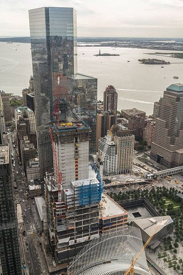Rakouská firma staví na Ground Zero.