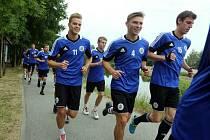 Dynamo zahájilo přípravu na nejvyšší fotbalovou soutěž, kam se po roce vrátilo.