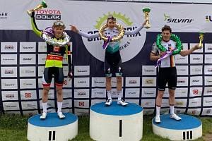 Cyklisté závodili v Plzni. Matyáš Fiala byl druhý