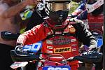 Jinín hostil druhý závod juniorského šampionátu v motokrosu.