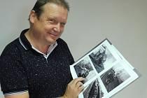Českobudějovický fotograf, nakladatel a patriot Milan Binder vydal fotografickou publikaci Železnice Českobudějovicka od počátku po současnost.