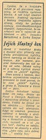 Článek zroku 1965.