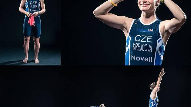 Petra Krejčová v reprezentačním dresu