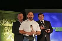 Martin Biháry byl vyhlášen nejlepším handicapovaným sportovcem spolu s Arnoštem Petráčkem.