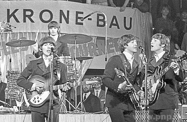 Beatles vMnichově 1966.