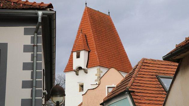 Rabenštejnská věž vČeských Budějovicích.
