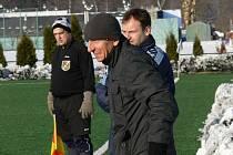 Nový manažer Pavel Beránek zápasy Jankova na Zimní lize jaksepatří prožívá.
