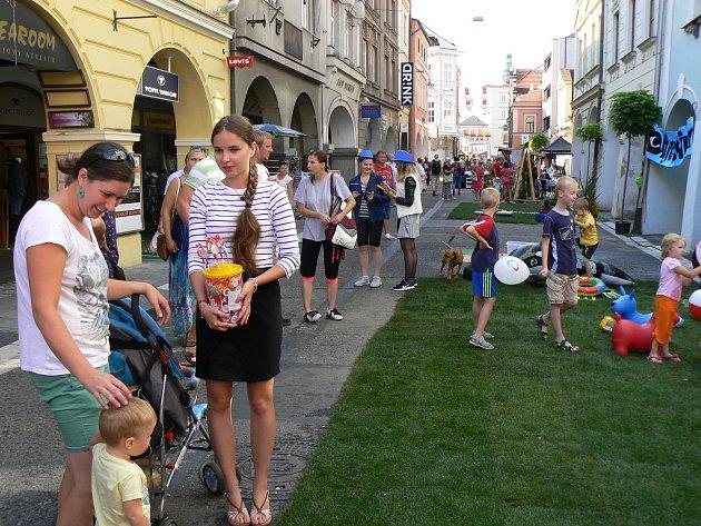 V centru Budějovic se uskuteční opět festival Město lidem, lidé městu.
