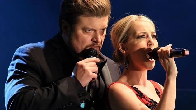 Sobotní koncert Broadway Rock na Mezinárodním hudebním festivalu v Českém Krumlově nabídl písně z muzikálů i Beatles.