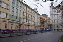 Nová ulice v Českých Budějovicích v současnosti.