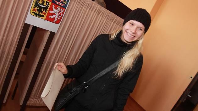 Volby v kulturním domě Vltava.