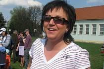 Magdalena Burdová byla v KP volejbalistek vůdčí osobností  vítězek z Meteoru ČB.