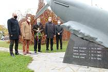 Den veteránů připomněli pietními akty 11. listopadu 2020 také představitelé města České Budějovice.