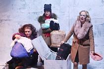 PSYCHOLOGICKOU SONDOU do vztahů v současné rodině je hra Pod sněhem. Inscenace podle románu Petry Soukupové se bravurně pohybuje mezi komikou a tragikou.