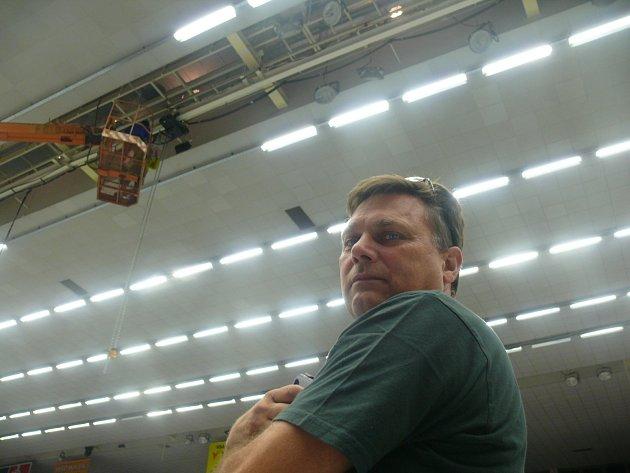 Multifunkční kostka opustila Budvar arénu