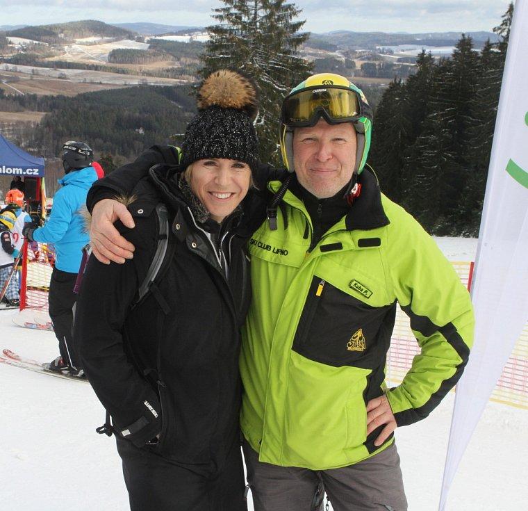 Zahájení projektu Jižní Čechy olympijské, Jakub Prüher a Kateřina Neumannová