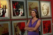 Zahájení výstavy Andyho Warhola v Alšově jihočeské galerii na Hluboké.