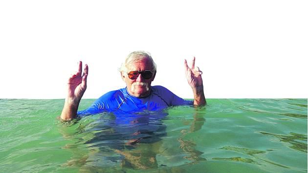 Na vodě a u vody se Petr Vitoň cítí jako ryba ve vodě. Stejně tak s kamerou.