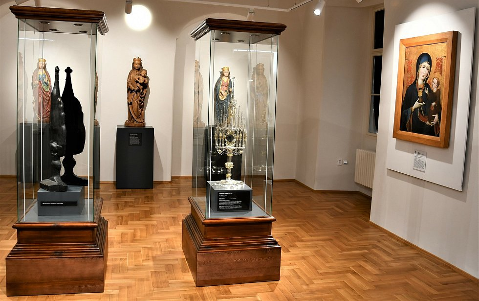 Poklady z diecéze, to je nová stálá expozice v Augustiniánském klášteře v Borovanech na Českobudějovicku.