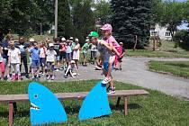 Děti se zúčastnily 5. ročníku příměstského táboru v Ševětíně.