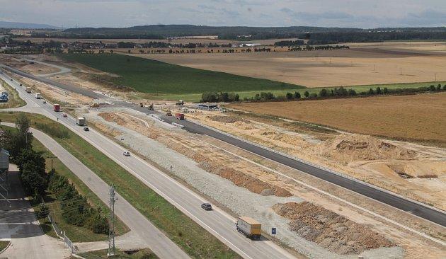Výstavba dálnice D3 od Veselí nad Lužnicí kUsilnému.